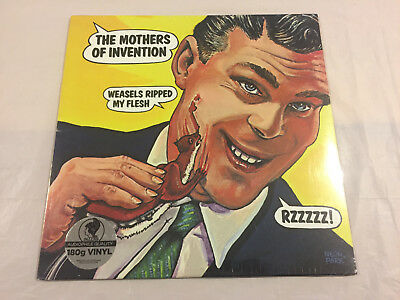 """FRANK ZAPPA-MOTHERS OF INVENTION:""""WEASELS RIPPED MY FLESH"""": NEW LP 180g VINYL"""