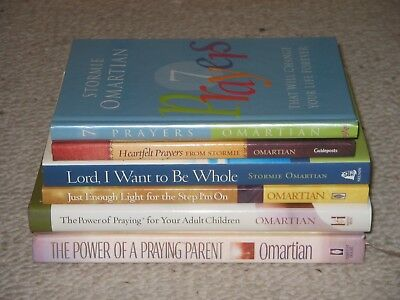 Stormie Omartian Lot of 6 The Power of a Praying Parent~Step I'm On FREE SHIP!!