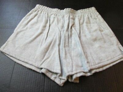 Vintage 60s Flannel Gym Shorts, Empire Large Never worn union made