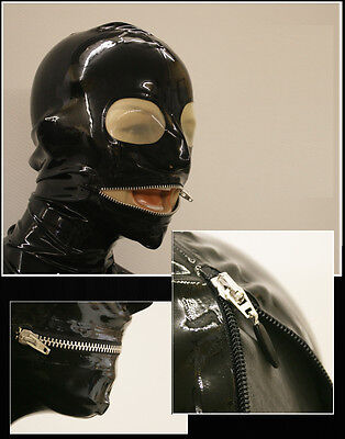 "★★★★ LATEXTIL ★★★★ Latexmaske ""TransZipp"" Mask Latex Rubber - NEW -"