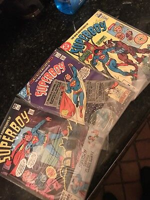 Lot of 3 Superbly Comics 1981-82  #16 #22 #32 Excellent Condition in Plastic