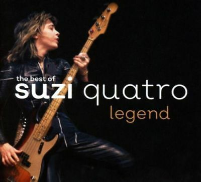 SUZI QUATRO The Best Of - Legend CD BRAND NEW Digipak Greatest Hits