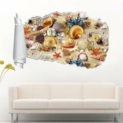 Captain Underpants 3D Torn Hole Ripped Wall Sticker Decal Decor Art Mural WT274