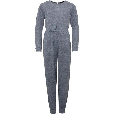 Girls Kids Lounge Suit, Jumpsuit Grey All-in-one Brand New Ages 8 - 15