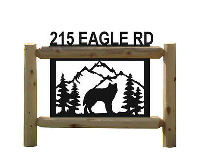 Wolves - Personalized Wolf Signs