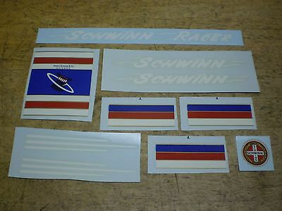 "Vintage Schwinn Approved Racer 26"" Bicycle Decal Set 1955 56 57 ?"