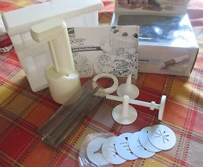 Proctor-Silex Super Shooter Plus Cookie Press with booklet(for Parts Only)