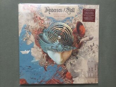 Invention of Knowledge Jon Anderson Roine Stolt Yes Flower Kings Vinyl LP Record