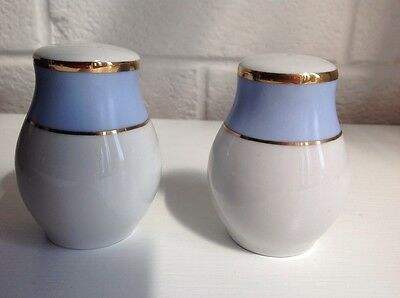 Royal Doulton, 2004, Salt And Pepper Pots,bruce Oldfield