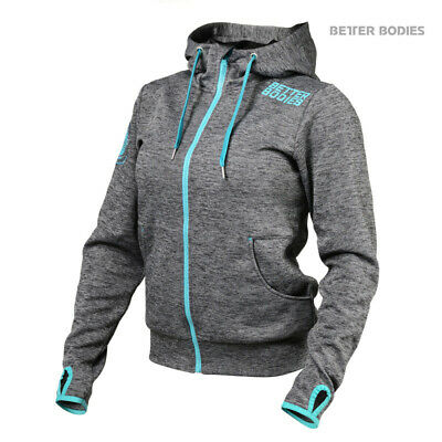 Better Bodies Womens Athletic Hood Frauen Fitness Hoodie Sport Bekleidung 110750