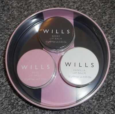 Brand New Women's Lip Balm Gift Set by Jack Wills - Xmas