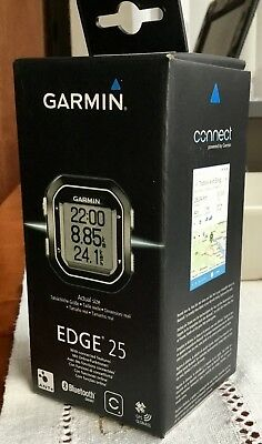 Garmin Edge 25 Bike Cycle GPS Compact Cycling Computer Boxed Immaculate Complete