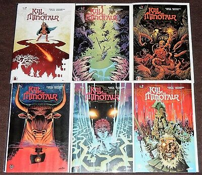 KILL THE MINOTAUR 6-Issue Set by Chris Pasetto and Christian Cantamessa