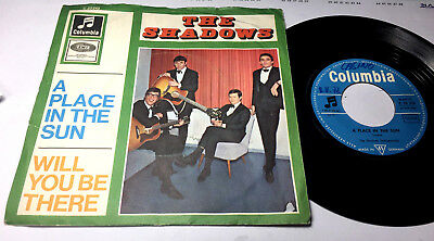 The Shadows#A Place In The Sun/Will You Be There#Columbia C 23 243#Germany 1966