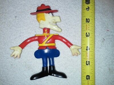 DUDLEY DORIGHT BENDABLE FIGURE   from Wham-O  1972