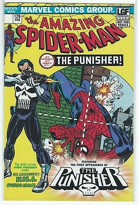 Amazing Spider-Man #129 (First Punisher Appearance) Lions Gate Reprint Variant