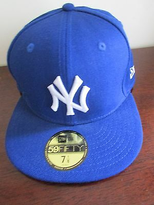 "New York Yankees New Era 59FIFTY Baseball Cap 56.8cm 7.1/8""th, Genuine merchan"