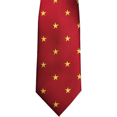 Equetech Star Show Womens Accessory Tie - Red/gold All Sizes