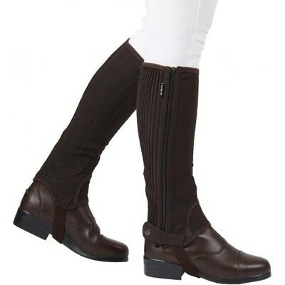 Dublin Childs Easy-care Half Kids Footwear Chaps - Brown All Sizes