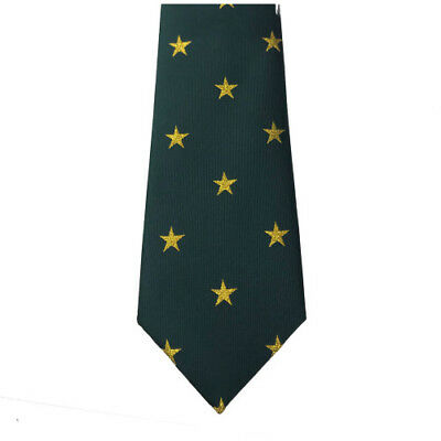 Equetech Star Show Womens Accessory Tie - Green/gold All Sizes