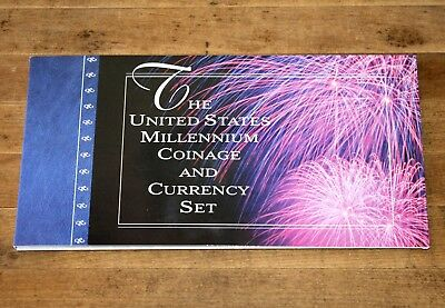 2000 United States MILLENNIUM Coinage & Currency Set