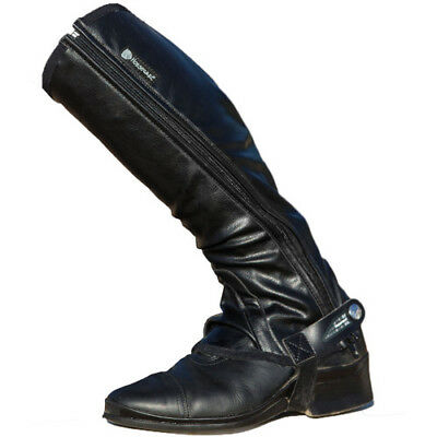 Horseware Tech Stretch Womens Footwear Chaps - Black All Sizes