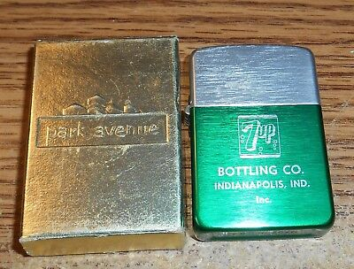 Vintage 7Up Bottling Company Advertising Lighter/in Box/very Rare!