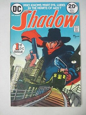 The Shadow #1 November 1973 Dc Comics First Issue Denny O'neil Mike Kaluta