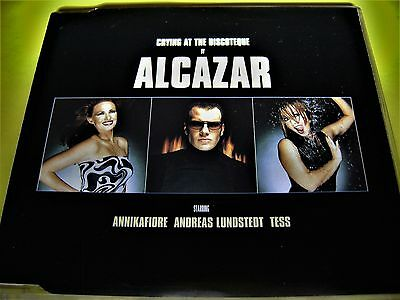 ALCAZAR - CRYING AT THE DISCOTEQUE | 4 Track| Maxi Rarität | Shop 111austria