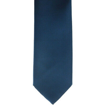 Showquest Plain Kids Accessory Tie - Navy All Sizes