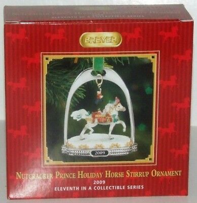 2009 Breyer Nutcracker Prince Horse Stirrup Ornament ~ NIB