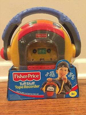 Fisher Price Tuff Stuff Tape Recorder New in good box