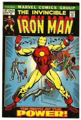 Iron Man #47 (1972) Fine+ New Original Owner Marvel Comics Collection