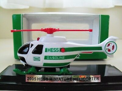 2005 Hess Miniature Helicopter - New In Box