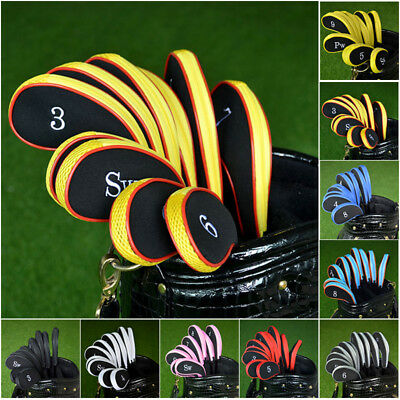 Lots Head Covers Golf Iron Club Putter Headcovers Protection Case Accessories