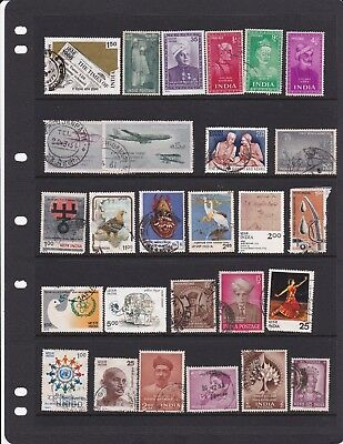 India Nice Used Collection of Later Stamps