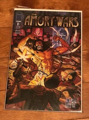 The Amory Wars Comic Book Issue 1 Coheed And Cambria 2007 Image / Evil Ink