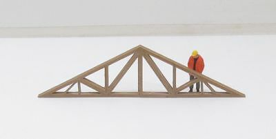Roof Truss Made From Bamboo Wood / Plastic Composite  1:50 Scale