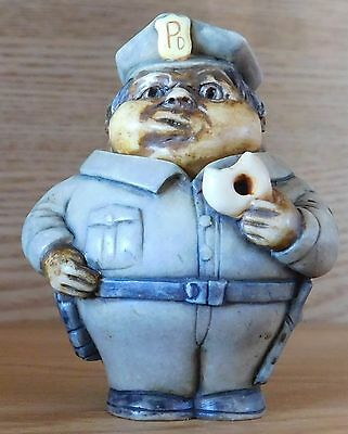 Safe Guarder 2 Harmony Ball  Pot Bellys Pot Belly Policeman African American