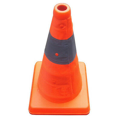 """40 CM 16""""Folding Collapsible Traffic Multi Purpose Pop up Reflective Safety Cone"""