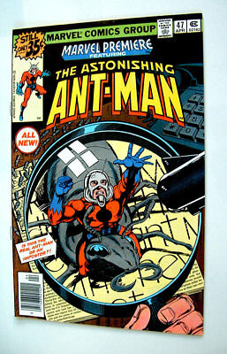1979 Marvel Premier The Astonishing Antman Issue #47 Comic Book Glossy 8.0