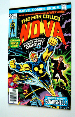 1976 The Man Called Nova Issue #1 Comic Book 8.0 Condition