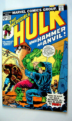 1974 The Incredible Hulk Issue #182 Comic Book 7.5 Condition Beautiful
