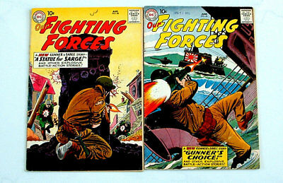 1959 Our Fighting Forces Issue #46 And #48 Comic Books