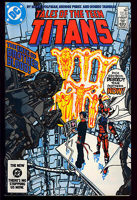 Tales of the Teen Titans #41-43, 45-47, Ann. 1 & 3 GROUP (8) DC 1984 VF/NM