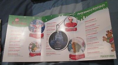 FREEFORM Network Channel Promotional Ornament Display Disney Fairy Tale Weddings