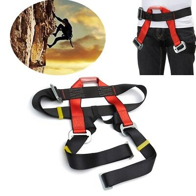 Professional Rock Tree Climbing Rappelling Safety Harness Seat Sitting Bust Belt