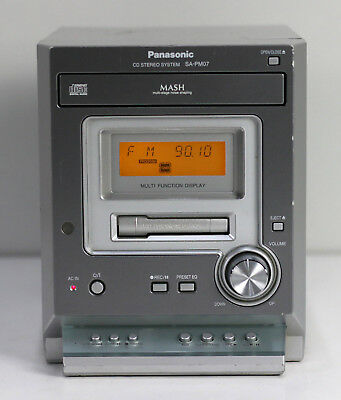 Panasonic SA-PM07 - hochwertiges CD Stereo System Micro Stereoanlage