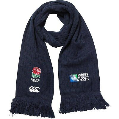 England Rugby World Cup 2015 Red Rose Canterbury Scarf New With Tag
