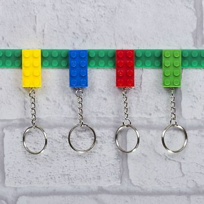 Key Holder Bricks Wall Mounted Key Ring Multi Kids Novelty Gift